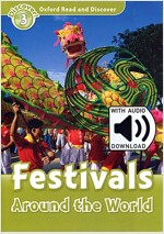 Oxford Read and Discover: Level 3: Festivals Around the World  (with MP3 Audio) (Paperback, MP3 download card)