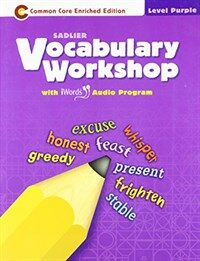 Vocabulary Workshop(enriched) Student Book: Purple