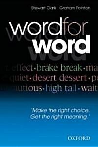 [중고] Word For Word (Paperback)