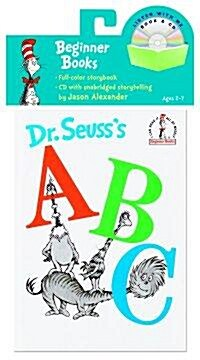 Dr. Seusss ABC Book & CD [With CD] (Paperback)
