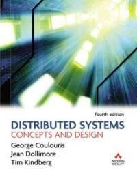 Distributed systems : concepts and design 4th ed