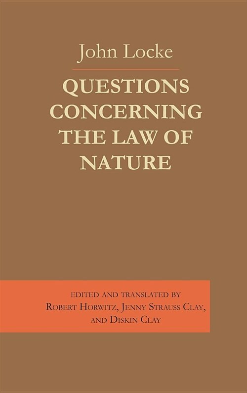 Questions Concerning the Law of Nature (Hardcover)