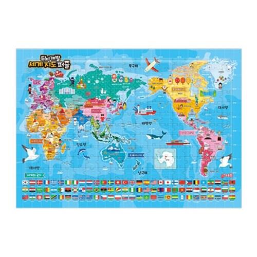 세계지도 퍼즐 (180조각)
