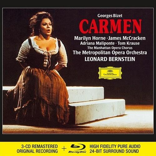 [수입] 비제 : 카르멘 (3CD+Blu-ray Audio)