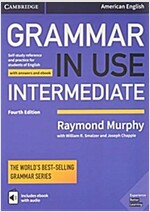 Grammar in Use Intermediate Student's Book with Answers and Interactive eBook : Self-study Reference and Practice for Students of American English (Package, 4 Revised edition)