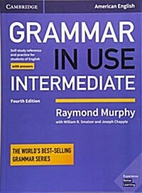 Grammar in Use Intermediate Students Book with Answers : Self-study Reference and Practice for Students of American English (Paperback, 4 Revised edition)