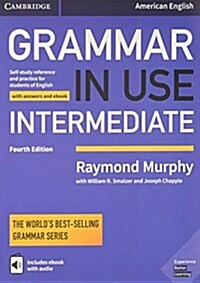 [중고] Grammar in Use Intermediate Students Book with Answers and Interactive eBook : Self-study Reference and Practice for Students of American Englis (Package, 4 Revised edition)