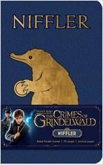 Fantastic Beasts: The Crimes of Grindelwald: Niffler Ruled Pocket Journal (Hardcover)