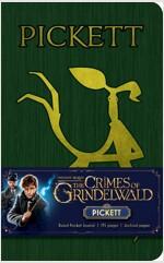 Fantastic Beasts: The Crimes of Grindelwald: Pickett Ruled Pocket Journal (Hardcover)