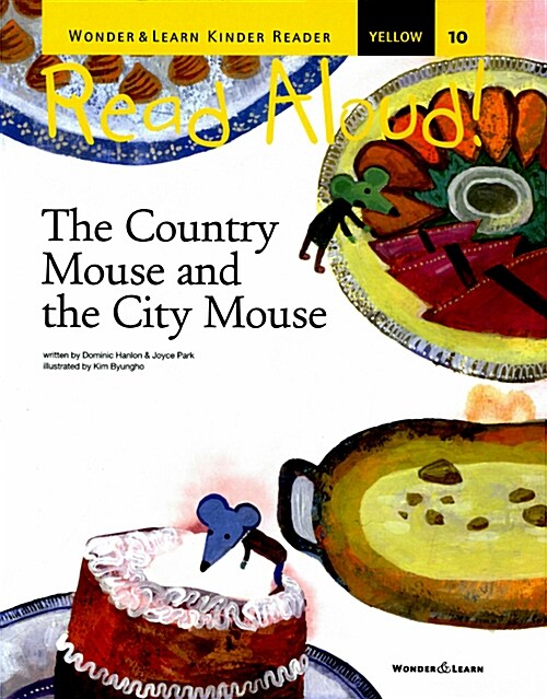 리드얼라우드 Read Aloud 10 : The Country Mouse and the City Mouse (책 + CD 1장 + DVD 1장)