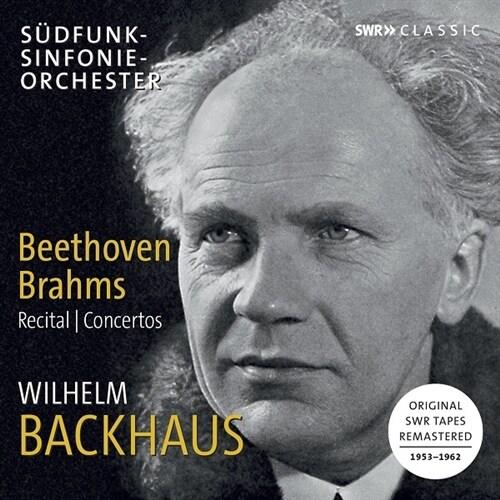 [수입] 베토벤: 피아노 협주곡 5번, 피아노 소나타 3번, 21번, 29번 / 브람스: 피아노 협주곡 2번 외 [3CD]