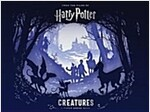 Harry Potter - Creatures : A Paper Scene Book (Hardcover)
