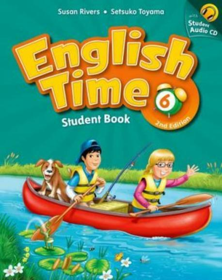 English Time 6 : Student Book (Paperback + Audio CD, 2nd Edition)