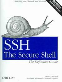 SSH, the secure shell : the definitive guide 2nd ed