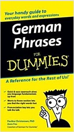 German Phrases for Dummies (Paperback)