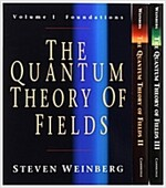 The Quantum Theory of Fields 3 Volume Paperback Set (Package)