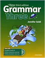 Grammar: Three: Student's Book with Audio CD (Package, 3 Revised edition)