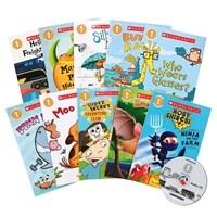 스콜라스틱 리더스 Scholastic Readers Level 1 Collection (Paperback 10권 + Audio CD 1장)