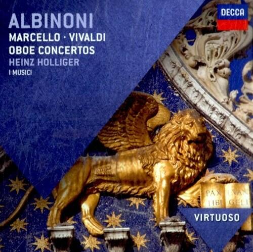 [수입] 알비노니, 마르첼로 & 비발디 : 오보에 협주곡