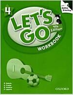 (4판)Let's Go 4: Workbook with Online Practice (Paperback, 4th Edition)