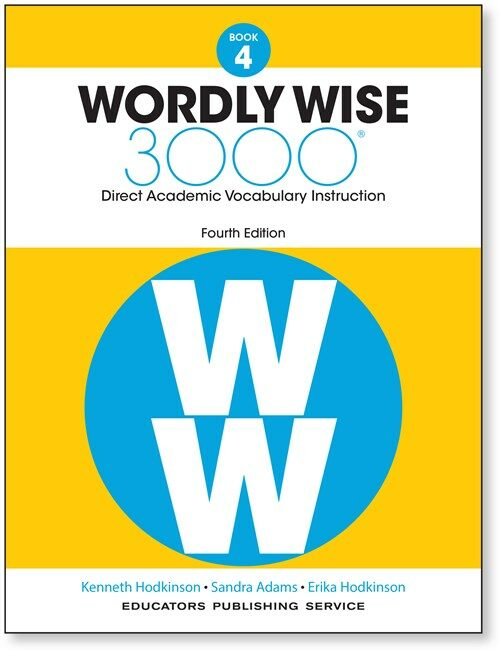 Wordly Wise 3000 : Student Book 4 (Paperback, 4th Edition)