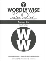 Wordly Wise 3000: Book 03 Answer Key (4/E) (Paperback, 4th, Answer Key)