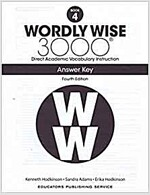 Wordly Wise 3000: Book 04 Answer Key (4/E) (Paperback, 4th, Answer Key)