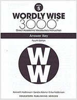 Wordly Wise 3000: Book 05 Answer Key (4/E) (Paperback, 4th, Answer Key)