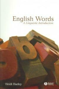 English Words : A Linguistic Introduction (Paperback)