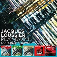 [수입] Jacques Loussier - 5 Original Albums [5CD][박스세트]