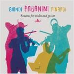[수입] 파가니니 : 바이올린과 기타를 위한 소나타 [디지팩]