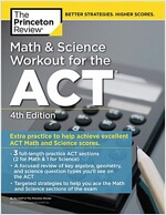 Math and Science Workout for the Act, 4th Edition: Extra Practice for an Excellent Score (Paperback)