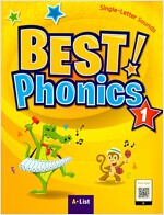 Best Phonics 1: Single-Letter Sounds (Student Book, DVD-ROM, MP3 CD, Readers) (Paperback)