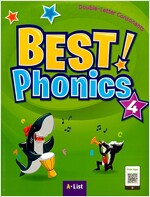 Best Phonics 4: Double-Letter Consonants (Student Book, DVD-ROM, MP3 CD, Readers) (Paperback)