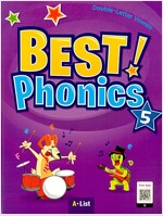 Best Phonics 5: Double-Letter Vowels (Student Book, DVD-ROM, MP3 CD, Readers) (Paperback)