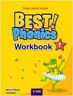 Best Phonics 1: Single-Letter Sounds (Workbook) (Paperback)