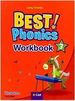 Best Phonics 3: Long Vowels (Workbook) (Paperback)