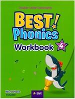 Best Phonics 4: Double-Letter Consonants (Workbook) (Paperback)