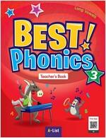 Best Phonics 3: Long Vowels (Teacher's Book, DVD-ROM, Teacher's Resource CD, Readers) (Paperback)