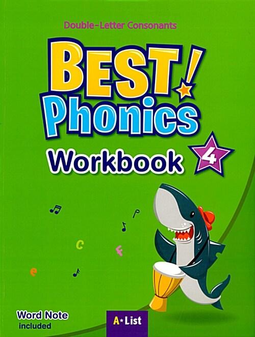 Best Phonics 4 : Workbook (Word Note)