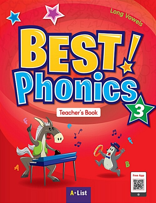 Best Phonics 3 : Teachers Book (DVD-ROM + Teachers Resource CD + Phonics Readers)
