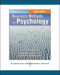 Research methods in psychology 9th ed., International ed