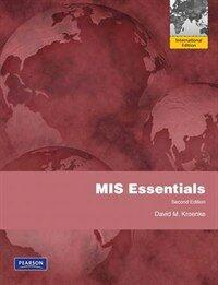 MIS essentials / 2nd ed., International ed