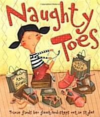 [중고] Naughty Toes (Paperback)