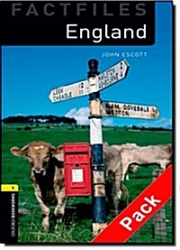 Oxford Bookworms Library Factfiles: Level 1:: England audio CD pack (Package)