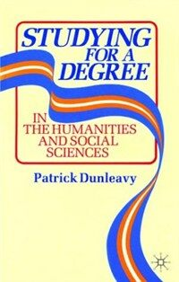Studying for a degree in the humanities and social sciences