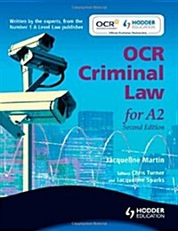 OCR Criminal Law for A2 (Paperback)