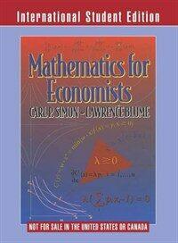Mathematics for Economists (Paperback)