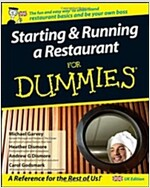 Starting and Running a Restaurant For Dummies : UK Edition (Paperback, UK Edition)