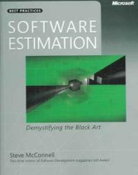 Software estimation : demystifying the black art